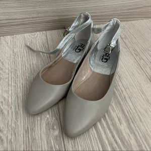 RUD by Rudsak Silver and Gray Flats